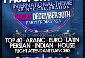 PASSPORT PARTY: International Pre-New Year's Eve Celebration