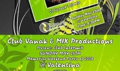 Vanak Memorial Weekend Party!