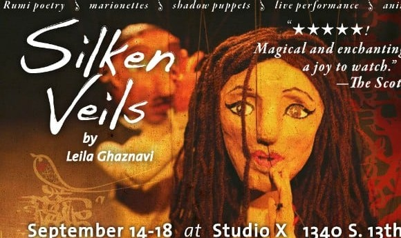 Silken Veils: Rumi Poetry, Puppetry, and Animation