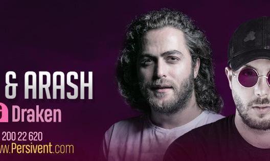 Masih & Arash Ap Live in concert-Göteborg