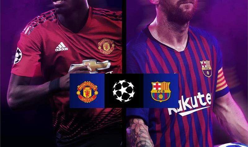 منچستریونایتد حریف بارسلونا شد +عکس لحظه به لحظه با قرعه کشی لیگ قهرمانان اروپا