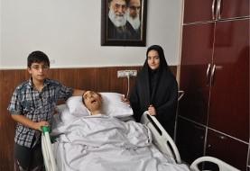 فیلم تشییع پیکر نورخدا موسوی در خرم آباد: جان باختن پس از ۱۰ سال کما در پی اصابت گلوله در درگیری مرزی با گروه ریگی مستقر در پاکستان