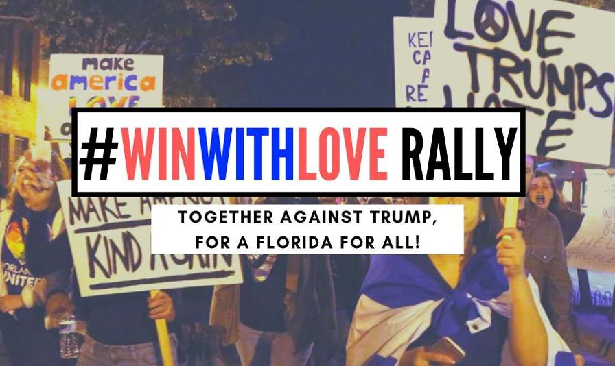 Iranian Americans Join Anna Eskamani in WinWithLove Rally: Together Against Trump!