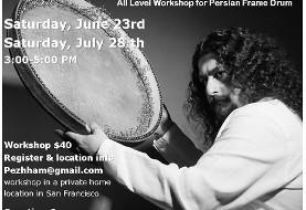 Daf Workshop with Pezhham Akhavass