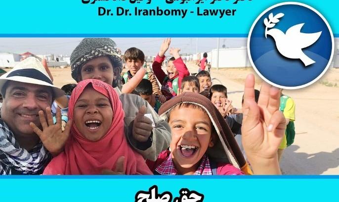 Dr. Dr. Iranbomy, Rechtsanwalt, Seminar: International Day of Peace