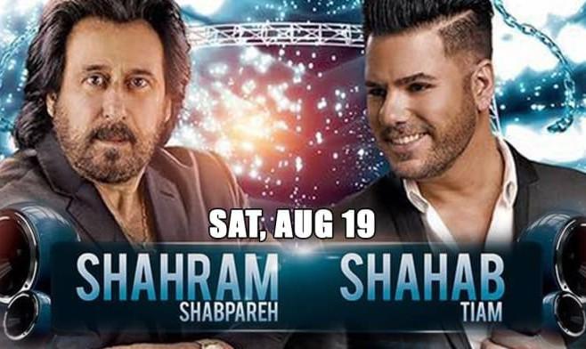 Shahram Shabpareh and Shahab Tiam Live in concert