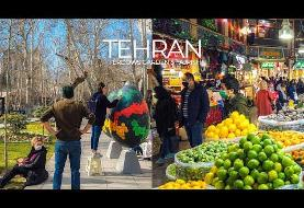 Candid Hidden Camera: Nowruz in Tehran Bazaar, Narmak, Tajrish and Niavaran