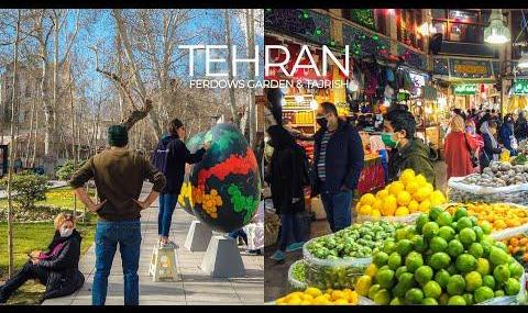 Candid Hidden Camera: Nowruz in Tehran Bazaar, Narmak, Tajrish and ...