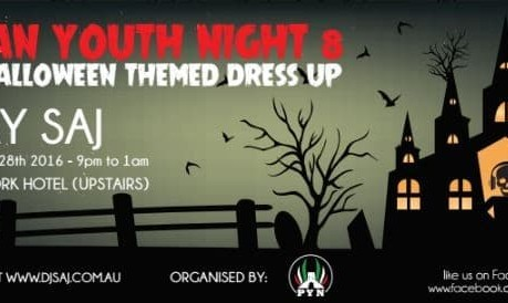 Persian Youth Night 8: Halloween Themed Party