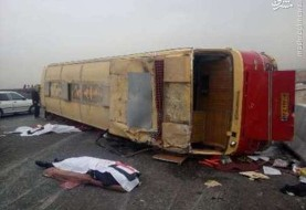 باز هم تصادف مرگبار مینیبوس دانشآموزان در مسیر امیدیه – ماهشهر