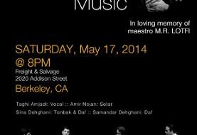 Classical Persian Music Night at Berkeley