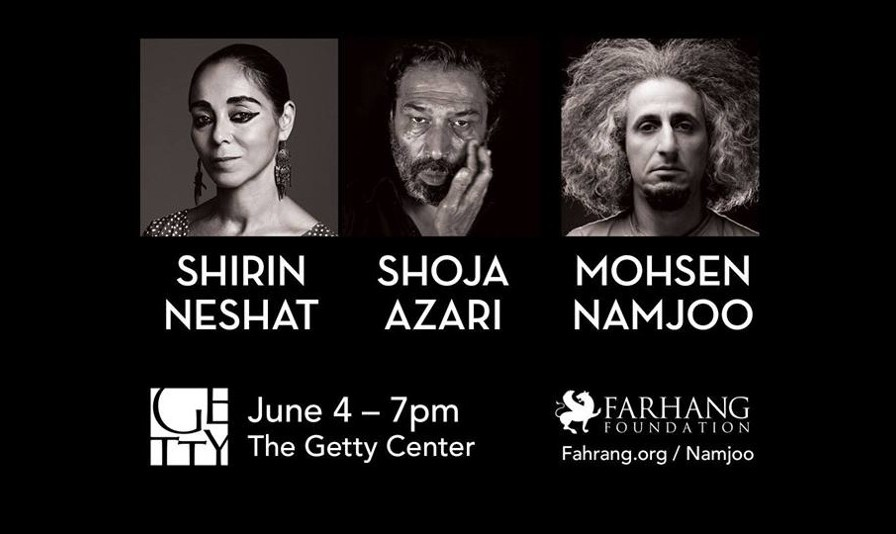 A Conversation with Shirin Neshat, Shoja Azari and Mohsen Namjoo