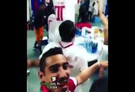 ویدئوهای جالب هفته: از پایکوبی تیم ملی در رخت کن با آهنگ آرش تا تصویر میدان آزادی در ویدئوی جدید آرش