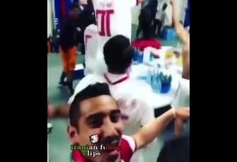 ویدئوهای جالب هفته: از پایکوبی تیم ملی در رخت ...