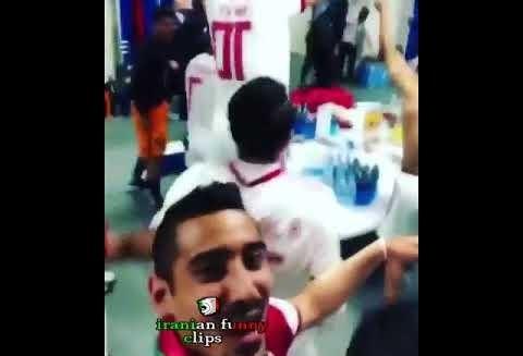 ویدئوهای جالب هفته: از پایکوبی تیم ملی در رخت کن با آهنگ آرش ...