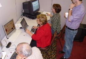Introduction to Computers Adult Class in Texas Persian Cultural Center