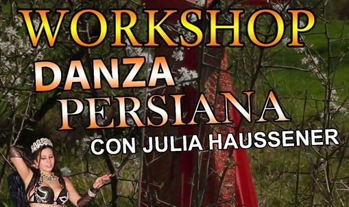 Workshop Persian Dance Stile Silk Dance a Napoli!