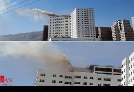 خبر فوری: آتش سوزی مهیب در برج ۲۰ طبقه مجتمع پارامیس شهرک راه آهن تهران: تاکنون بیش از ۶۰ نفر مجروح