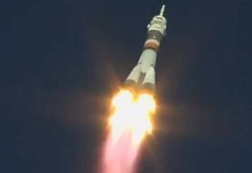 عکس فرود اضطراری فضانوردان در قزاقستان به دلیل نقض فنی فضاپیمای «سایوز»