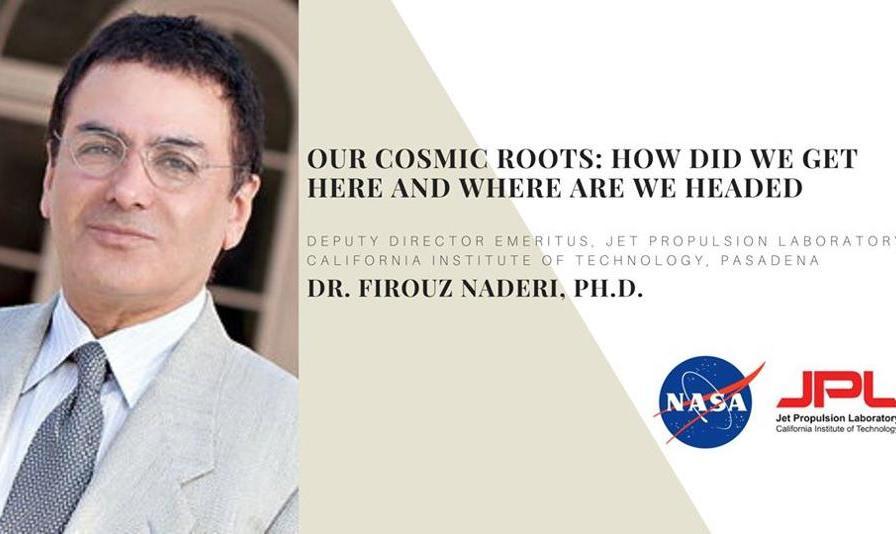 سخنرانی دکتر فیروز نادری مدیر ارشد سابق ناسا به زبان فارسی