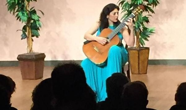 Lily Afshar Performs the Aranjuez Concerto in San Jose