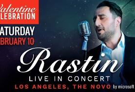 Rastin Live in Concert: Valentine Celebration