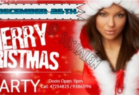 Persian Christmas Party with DJ RaHa