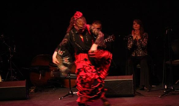 Mehran Jalili Quartet with Flamenco dancer Maya Tatiana