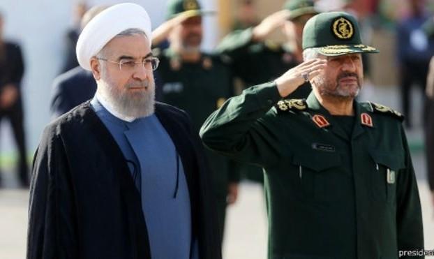 روحانی: سپاه در دل این مردم قرار دارد و در روزهای خطر از منافع ملی دفاع کرده است