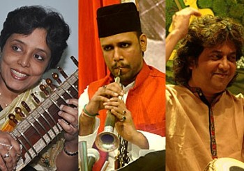 کنسرت موسیقی زیبای سه تار هندی با ...