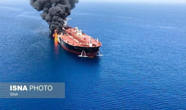 واکنش قاطع ظریف به ادعاهای آمریکا در مورد حادثه نفتکش ها در دریای عمان