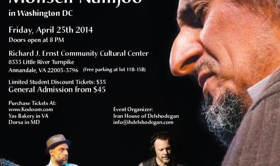 Trio, Mohsen Namjoo Live in Washington DC