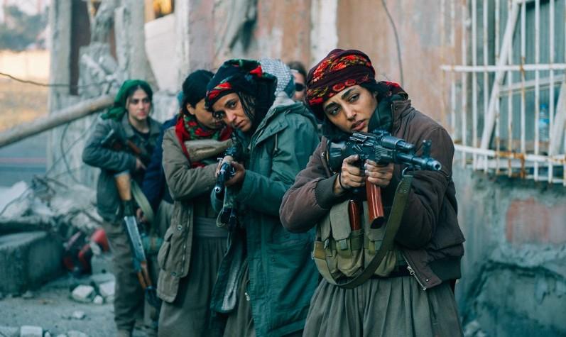 Golshifteh Farahani starring in Girls of the Sun at Toronto International Film Festival