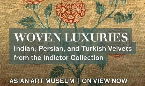 کلکسیون ابریشم بافتهای نفیس تاریخی ایران، هند و ترکیه در موزه هنر آسیایی سان فرانسیسکو