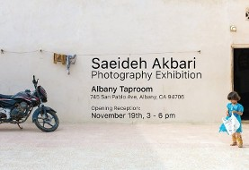 نمایشگاه آثار عکاسی سعیده