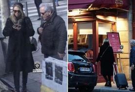 انتشار دوباره عکسهای خصوصی مهران مدیری در پاریس با یک خانم جنجال ساز شد