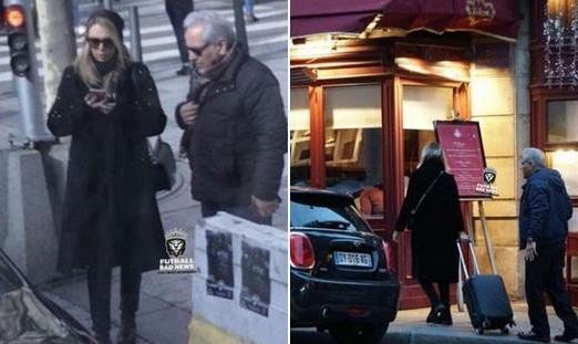 انتشار دوباره عکسهای خصوصی مهران مدیری در پاریس با یک خانم ...