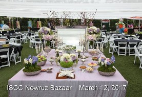 ISCC's ۱۰th Annual Nowruz Bazaar