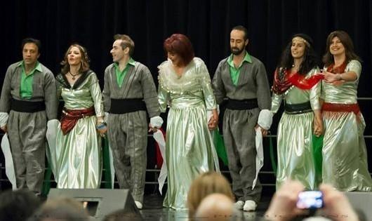 Kurdish Dance at Tirgan