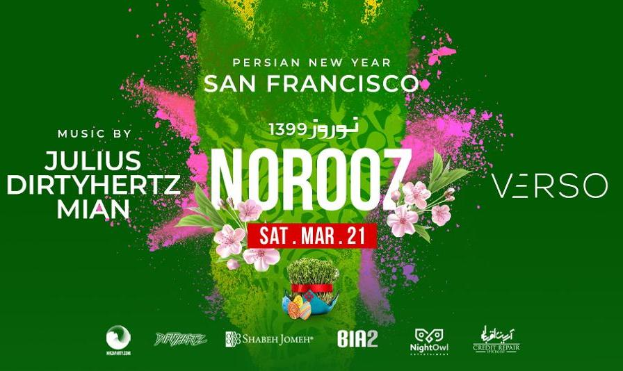 Canceled:  Norooz Party in San Francisco by Bia2, DIRTYHERTZ & Mirza Party