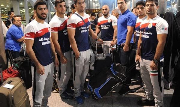 ملیپوشان کشتی فرنگی وارد پاریس شدند: ۴ نماینده ایران امروز حریفان خود را میشناسند