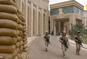اصابت چندین موشک به نزدیکی سفارت آمریکا در بغداد