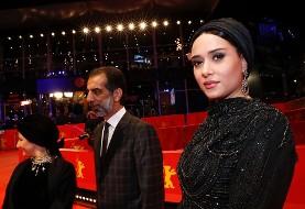 عکس هنرمندان ایرانی در جشنواره فیلم برلین: چرا مانی حقیقی از حجم سوالات سیاسی در جشنواره برلین خشمگین شد؟