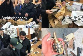 عکس خانم ۵۴ ساله عامل تهدید به بمب گذاری یکی از بانک های فرمانیه تهران