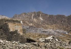 ورود به کوه نمک بوشهر ممنوع شد: اولین تصاویر از مرکز زلزله استان بوشهر