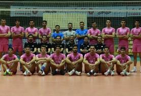 جوانان ایران از قطر شکست خوردند و نایب قهرمان والیبال جام کنفدراسیون آسیا شدند