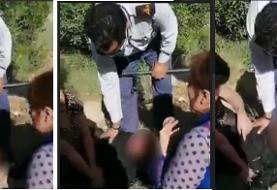 ویدئو: ضرب و شتم تکان دهنده دختر آبادانی توسط حراست پالایشگاه بخاطر حضور در خانه شوهر صیغهای اش