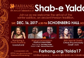 Farhang Foundation Presents the ۵th Annual Celebration of Shab-e Yalda