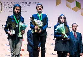 Iran's Chess Prodigy Wins Silver at World Blitz Chess Championships (Video)