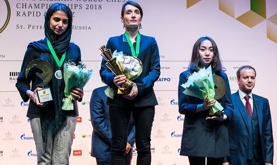 Iran's Chess Prodigy Wins Silver at World Blitz Chess ...